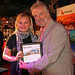 Achievers winners evening Bob The Mechanic Clive Carter with Dawn Thornton, Kanoo Travel, Bristol