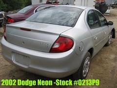 02 Dodge Neon -stock #0213P9