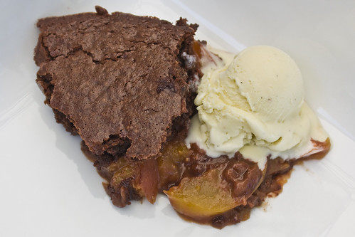 Top Chocolate Cobbler
