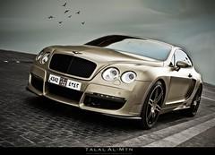 Bentley GT Mansory (Talal Al-Mtn) Tags: sport canon matt gold dubai shot great kuwait gt 2008 bentley talal dxb kwt luxry mansory 450d mattgold almtn talalalmtn bentleygtmansory