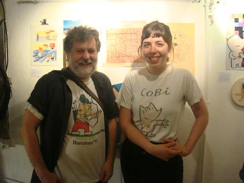 Elenio Pico y Cristina Daura