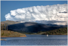 Impressive Storm Near Lake Dillon (glness) Tags: storm mountains sailboat rockies colorado sailing co rainstorm thunderstorm rockymountains hdr summitcounty continentaldivide thunderhead lakedillon canon5dmarkii gregness
