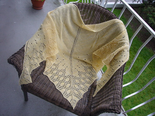 Seraphim Shawl on Chair
