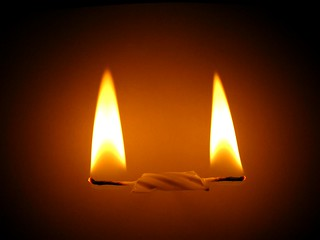 my candle burns at both ends, it will not last the night
