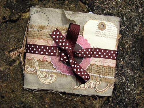 Wedding minibook (front)