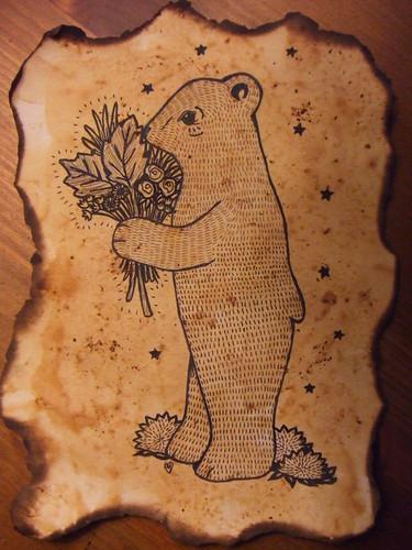 a bear for kiva