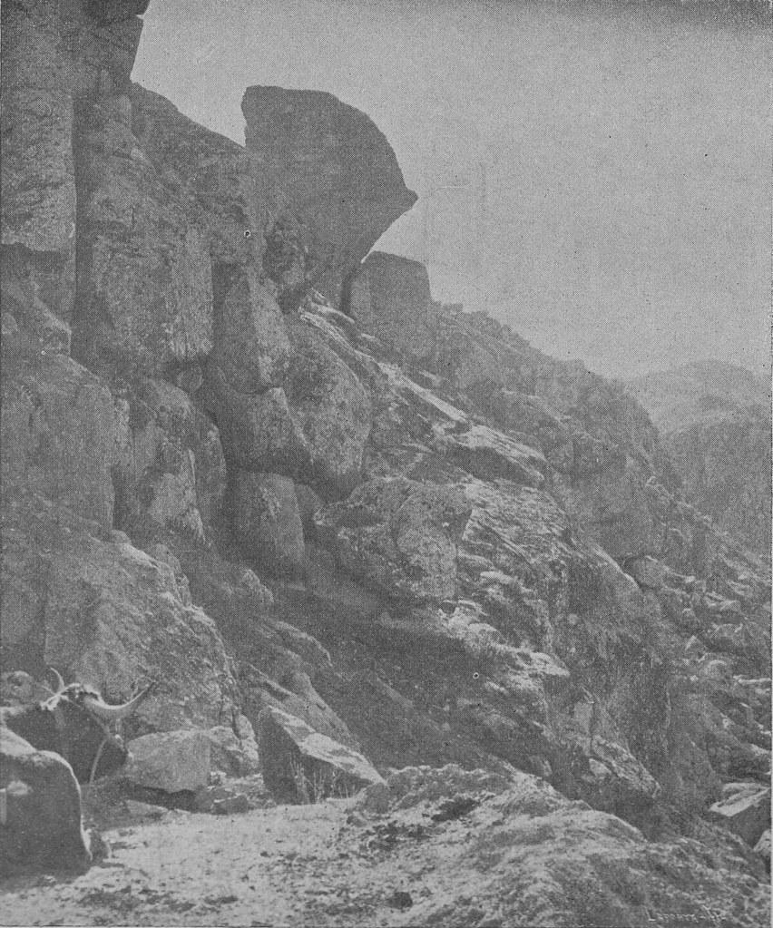Estribos del acueducto romano de Toledo hacia 1900