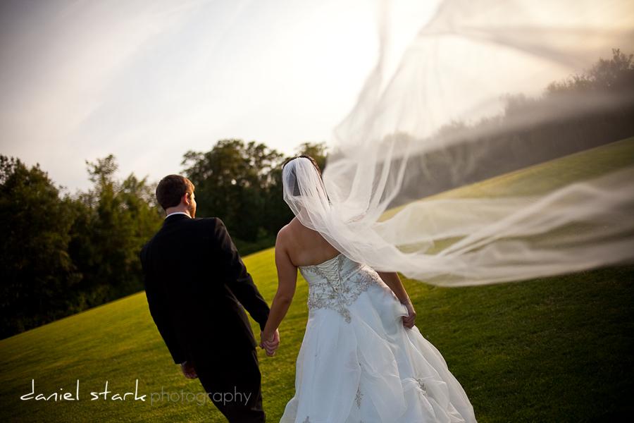 How I love long veils
