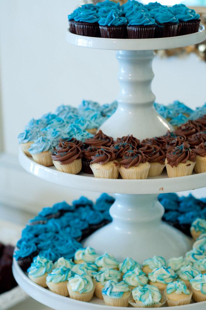 a cupcake wedding
