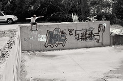 Leap of Faith (JeffMartino) Tags: noodles meth skateboarders infraredfilm