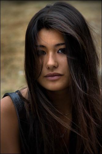 (Alain Bachellier) Tags: portrait woman paris girl femme young teen fille ...