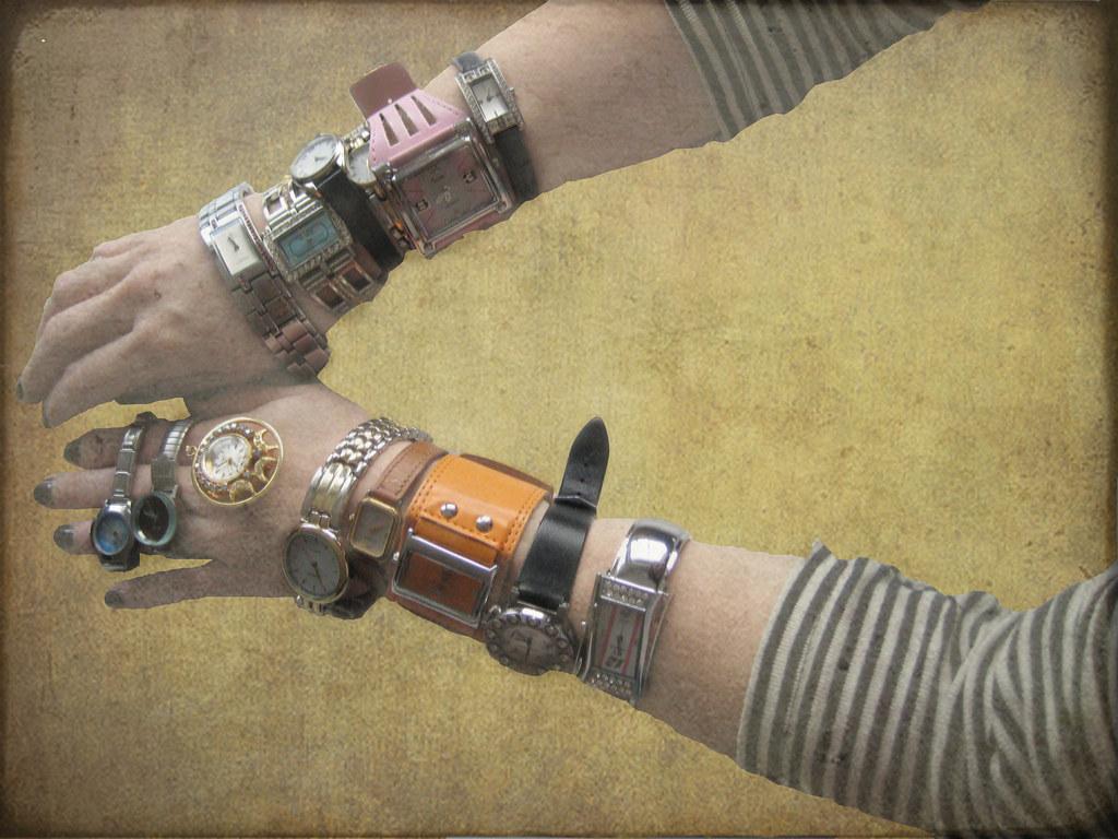 Robot hands...