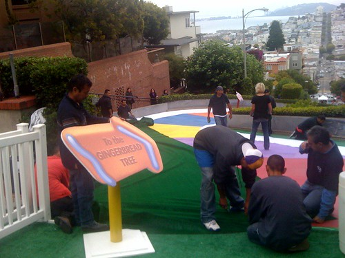 Creating Candyland on Lombard