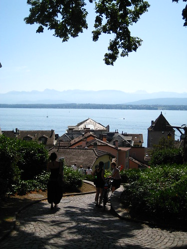 Overlooking Lake Léman - Nyon, Switzerland