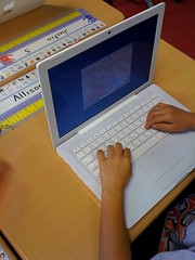 Typing in grade 2 by jutecht