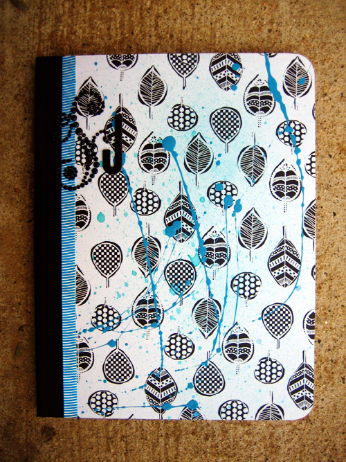 J Composition Book Front S