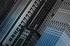 Building Lines (Hamad Al-meer) Tags: blue bw white black color building art glass lines canon eos uae feather line effect hamad 30d حمد almeer المير hamadhd hamadhdcom wwwhamadhdcom