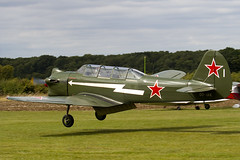 OO-IAK - Private - Nanchang CJ-5 (Yak-18A) - Little Gransden - 090830 - Steven Gray - IMG_2529
