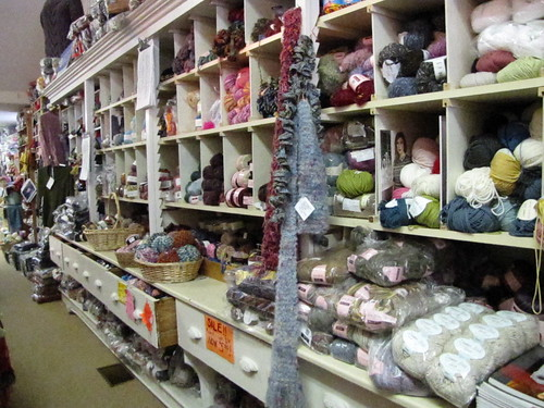 the wooly lamb yarn shop