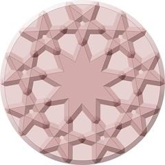 9-sided rosette