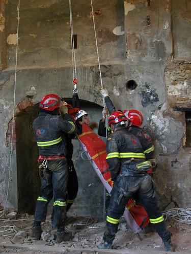 rescatando victima