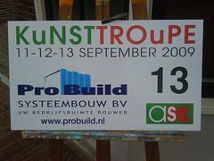 KuNSTTROuPE punt 13 #kt09nl www.ateliersschagen.nl