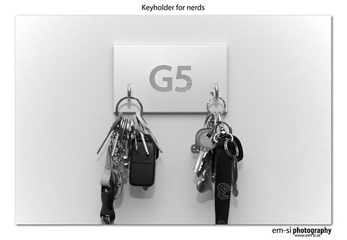 One mor thing.... keyholder for nerds