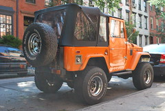 DSC_0068 (Disaffected Prep) Tags: westvillage coolcars landcruisers rhymeswithorange