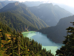 Blanca Lake from Ridge