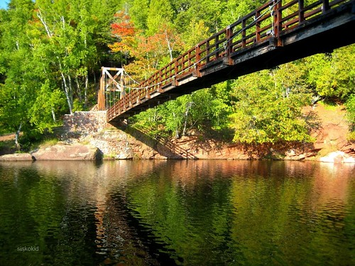 Bridge At Black River Harbor
