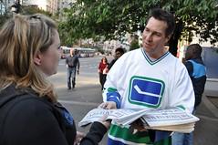 Kirk McLean on Raise A Reader Day 2009