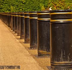 Get in line!!! (dutchmetal) Tags: uk london row line poles vanishing londen lijnen paaltjes rij vervagen
