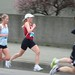 Vancouver Sun Run: Elite female runners Fiona Docherty, Kristina Rody and Cheryl Murphy coming up on 6km mark