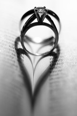 IMG_2752B&W (cotmweasel) Tags: wedding love rings marrage 1corinthians13 doubleheart