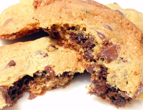 choc chip brownie pillow