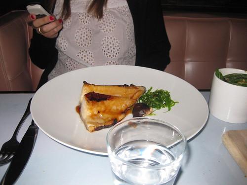 Black Cod con salsa Miso