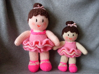 Knitting Pattern Ballerina Doll : Ravelry: Ballerina pattern by Jean Greenhowe