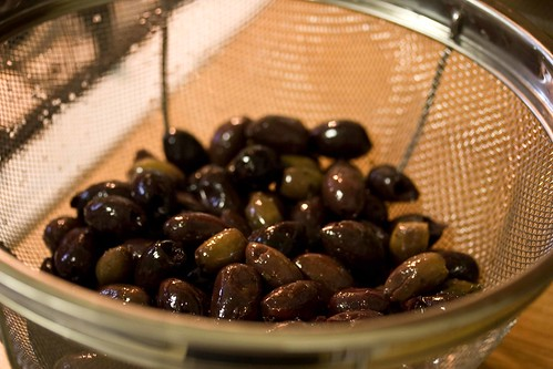 olives, mixed
