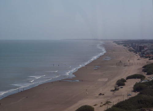 View of Monte Hermoso from the Faro Recalada by katiemetz, on Flickr