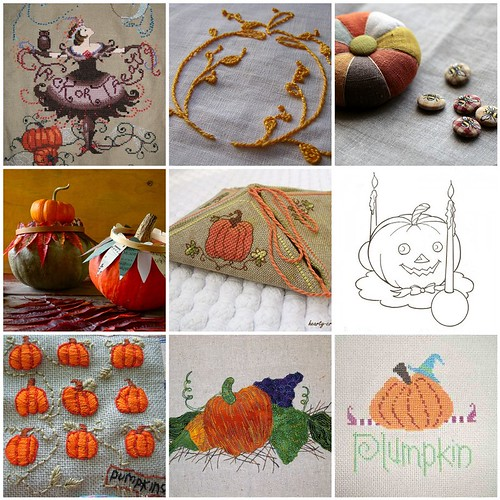 Embroidery Inspiration - Pumpkins
