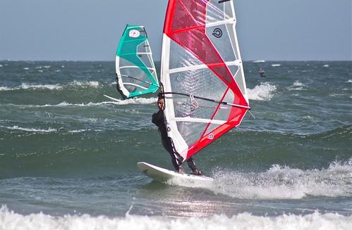 Windsurf in Punta del Este por alobos online.