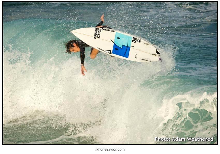 Adam Bennetts Mac Surfboard
