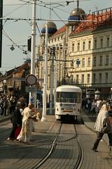 Trams (Gezlarge) Tags: store croatia zagreb trams trg bana nama jelacica