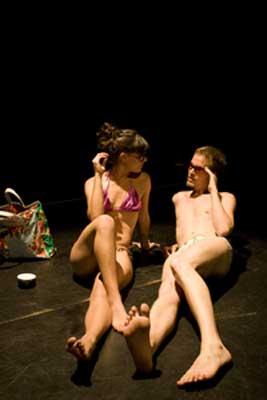 Cristina Núñez y Soren Evinson en Proyecto B de Aimé Malena Pansera