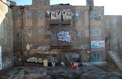 Crushed! (EMENFUCKOS) Tags: chicago graffiti afro preston onion evol 312 fact tenor rta polack soke uac irok budz chicagograffiti urbal skame
