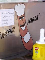 Weenie Wagon (rentavet) Tags: hebrewnational frenchsmustard weeniewagon