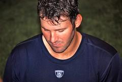 Tony Romo (David L. Rhoads III) Tags: camp signs cowboys training dallas football nikon san texas nfl quarterback tony fans antonio 2009 autographs alamodome romo d60 55200mm