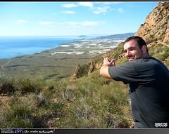 Sergio y Playas de Bolnuevo (Pedro Agera) Tags: ruta minas playa sierra sancristobal monte montaa cartagena senderismo escalada sendero campillo mazarron bolnuevo moreras percheles laazohia sierradelasmoreras