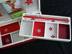 """Caixa para bijuterias """"Pin-Up Girl"""" (GataPreta Artesanato) Tags: vintage caixa dcoupage pinup pintura bijuterias maeira"""