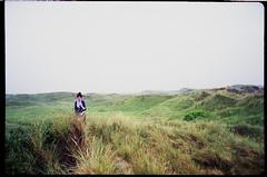 horizon to horizon (lolitanie) Tags: film beach 35mm denmark jamie mju dunes olympus 135 danmark mjuii stylusepic fuji100 mju2 lolitanie jmluneau rdhus rodhus